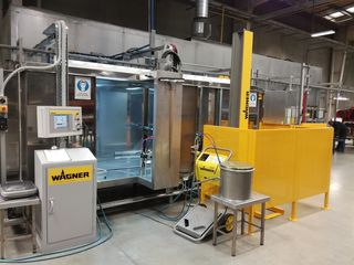 Metal Skills Wagner ProfiTech M coating system