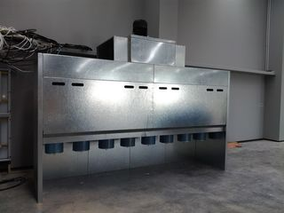 Hansa Chippers 4 m spraywall and oven upgrade
